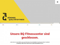 bq-fitness.ch Webseite Vorschau